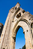 Abadía Somerset de Glastonbury Imagen de archivo
