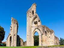 Abadía Somerset de Glastonbury Fotografía de archivo libre de regalías