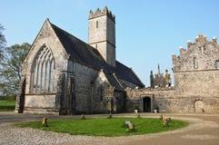 Abadía vieja de la iglesia en al oeste de Irlanda Imagen de archivo