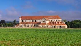 Abadía vieja de Pontigny, Borgoña Fotos de archivo