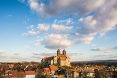Abadía vieja de Quedlinburg, Alemania Imagenes de archivo