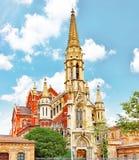 Abadía vieja en Barcelona Foto de archivo