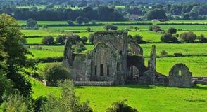 Abadía vieja en Cashel Imágenes de archivo libres de regalías