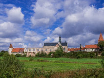 Abadía vieja en Sulejow, Polonia Fotos de archivo