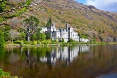 Abadía y castillo de Kylemore Imágenes de archivo libres de regalías
