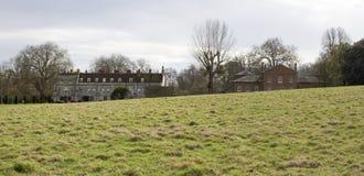 Abadía y establos Hampshire Inglaterra de Mottisfont Imagenes de archivo