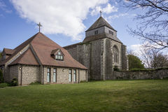 Abadía y Pasillo de la iglesia de monasterio Imagen de archivo