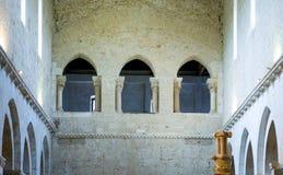 Abadías benedictinas de Abruzos Foto de archivo libre de regalías