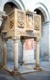 Abadías benedictinas de Abruzos Imagen de archivo libre de regalías