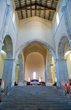 Abadías benedictinas de Abruzos Fotografía de archivo libre de regalías