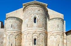 Abadías benedictinas de Abruzos Imagenes de archivo