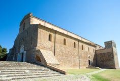 Abadías benedictinas de Abruzos Imagen de archivo