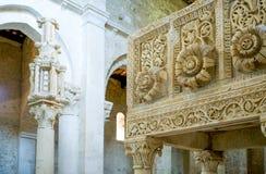 Abadías benedictinas de Abruzos Fotos de archivo libres de regalías