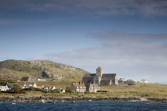 Abad?a de Iona, Escocia Imagen de archivo libre de regalías