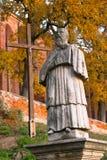 Abad de Sandomierz del monumento Foto de archivo
