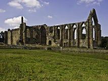 Abadía de Bolton Foto de archivo