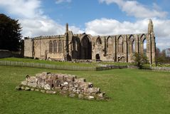 Abadía de Bolton Fotografía de archivo