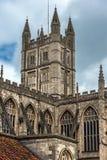 Abadía del baño, Somerset, Inglaterra Imágenes de archivo libres de regalías