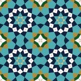 Abadan Seamless Pattern Four. Traditional Arabic Design Seamless Pattern Royalty Free Stock Image