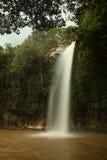 Abade Wasserfall nahe Pirenopolis Seitenansicht Lizenzfreies Stockfoto