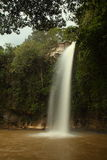 Abade waterfall near Pirenopolis side view royalty free stock photo
