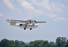 Abadejo Pardubice, Catalina consolidada PBY de Aviaticka Fotografía de archivo