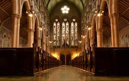 Abades interiores Londres de StMary de la Iglesia Anglicana Fotografía de archivo