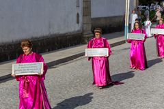 Procession royalty free stock images