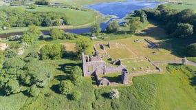 Abadia da polegada Downpatrick, condado para baixo Irlanda do Norte foto de stock