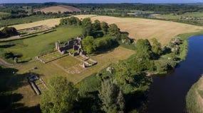 Abadia da polegada Downpatrick, condado para baixo Irlanda do Norte foto de stock royalty free