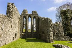 Abadia da polegada, Irlanda do Norte fotos de stock royalty free