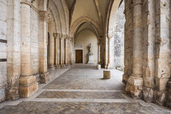 Abadia de Casamari em Ciociaria, Frosinone, Itália Fotos de Stock Royalty Free
