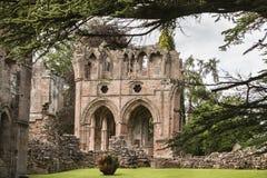 Abadia de Dryburgh nas beiras escocesas Fotografia de Stock Royalty Free