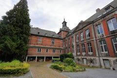 A abadia de FlÃ'ne, Flone, Bélgica fotografia de stock