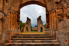 Abadia de Glastonbury Fotos de Stock Royalty Free