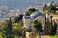 Abadia de Hagia Maria Sion imagens de stock
