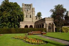 Abadia de Kelso foto de stock