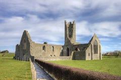 Abadia de Kilmallock, convento dominiquense. Ireland. Fotografia de Stock