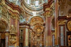 Abadia de Melk, Áustria Fotos de Stock