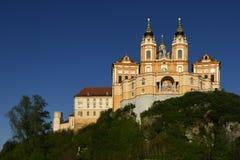 Abadia de Melk, Wachau, ?ustria foto de stock royalty free