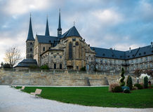 A abadia de Michaelsberg em Bamberga Foto de Stock