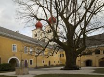 Abadia de Millstatt Imagem de Stock Royalty Free