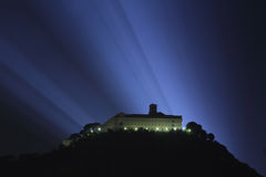 Abadia de Montecassino Foto de Stock Royalty Free