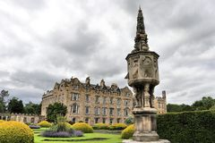 Abadia de Newbattle em Midlothian, Escócia Imagem de Stock Royalty Free