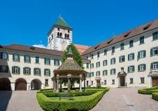 Abadia de Novacella, Tirol sul, Itália Imagens de Stock Royalty Free