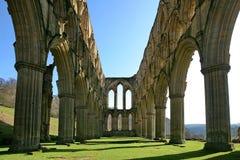 Abadia de Rievaulx Fotografia de Stock