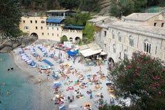 Abadia de San Fruttuoso, Italy imagens de stock royalty free