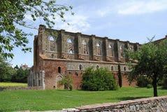 Abadia de San Galgano Foto de Stock