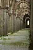 Abadia de San Galgano, detalhe imagem de stock