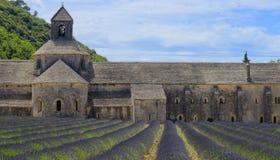 Abadia de Senanque em Provence imagem de stock royalty free